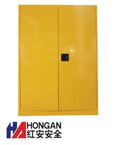 双桶型油桶存储柜「经典」黄色-OIL DRUM STORAGE CABINET