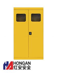 气瓶存储安全柜「三瓶气瓶柜」-黄色-GAS CYLINDER STORAGE CABINET