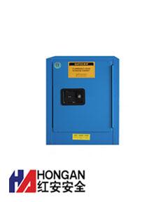 「4加仑」化学弱酸碱品安全存储柜-蓝色-CHEMICAL SAFETY STORAGE CABINET