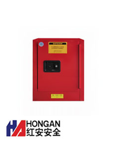 「4加仑」化学可燃品安全存储柜-红色-CHEMICAL SAFETY STORAGE CABINET