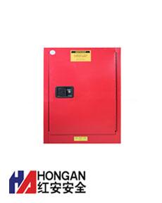 「12加仑」化学可燃品安全存储柜-红色-CHEMICAL SAFETY STORAGE CABINET