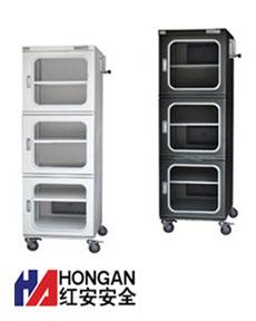 「718升」全自防静电氮气柜,防静电柜-黑色,瓷白色-NITROGEN STORAGE CABINET
