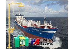 江苏正屿船舶重工采用红安洗眼器厂家的产品