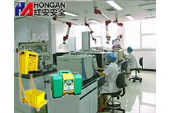 上海防疫中心采用红安洗眼器