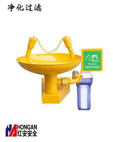 镀锌钢_ABS过滤型挂壁式洗眼器90906685-B