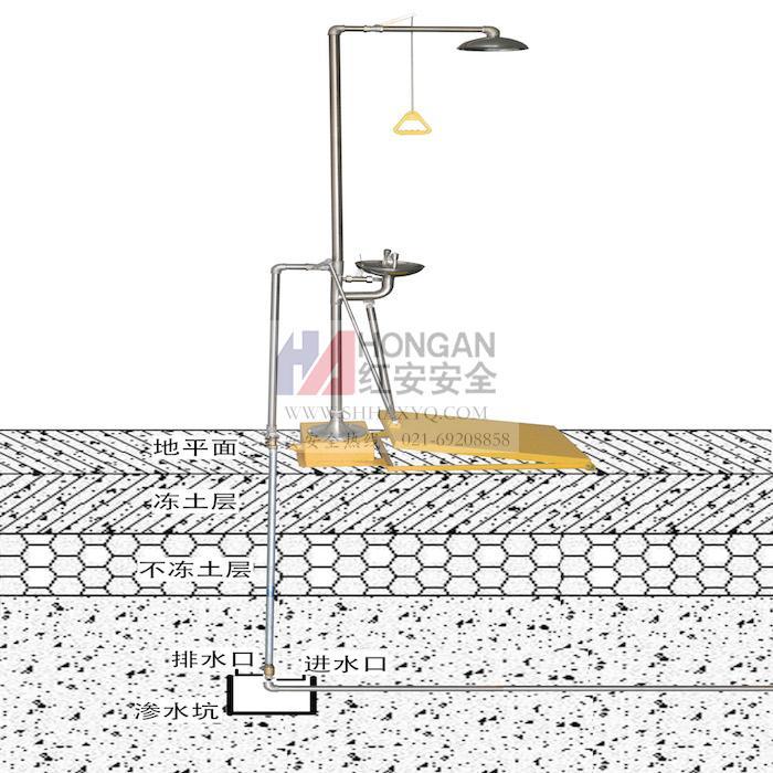 地埋式防冻洗眼器